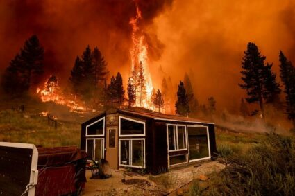 The Bootleg Fire in Oregon is so large, it's creating its own weather!