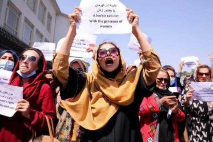 Women's demonstration in Taliban-controlled Kabul turns drastic!