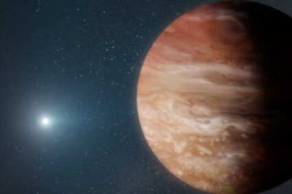 A new planet is orbiting a dead star which shows the future of Earth