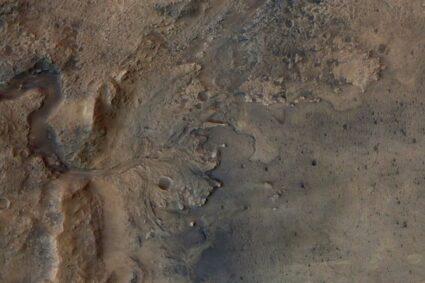 NASA's rover discovers Jezero Crater in delta lake in mars!